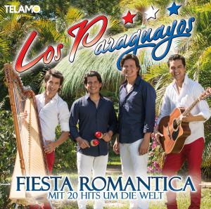 Los Paraguayos Cover Fiesta Romantica 405380430098